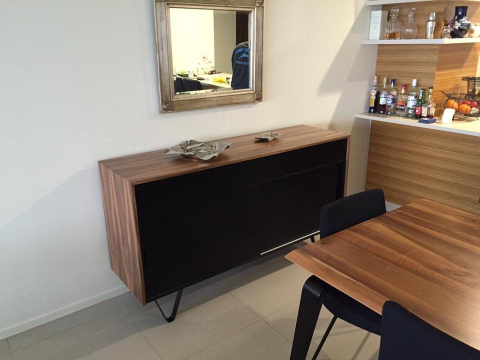 Bespoke QLD Walnut Furniture